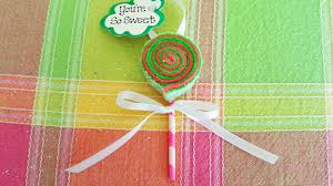 sweet as diy lollipop felt ornaments
