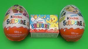 jumbo easter egg kinder egg easter party opening 2 new jumbo
