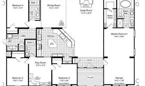 5 Bedroom Mobile Home Floor Plans Top 20 Photos Ideas For 5 Bedroom Modular House Plans Building