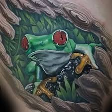52 amazing tree frog tattoos ideas about frog on tree golfian com