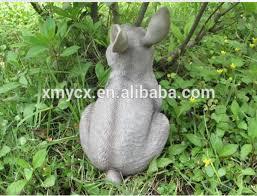 animal rabbit sculpture garden statue ornaments buy rabbit