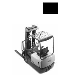 crown equipment automobile sc 4500 series user guide