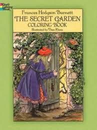 secret garden coloring book chile the secret garden coloring book frances hodgson burnett