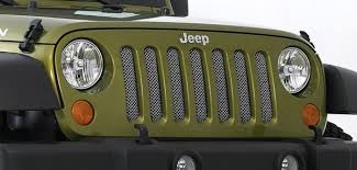 Rugged Ridge Grille Inserts Jeep Jk Metal Crafters Chrome Plated Stainless Steel Mesh Grill Inserts