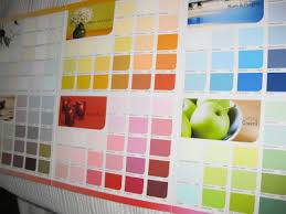 picking favourite colour paint swatch easy making cool furniture