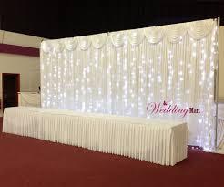 wedding backdrop ebay 6mx3m led fairy lights for wedding backdrop ebay