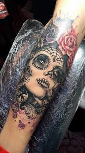 88 best dias de los muertos tattoos images on pinterest crafts
