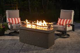 electric fire pit table the boreal complete heat modern fire pit table that heats your feet
