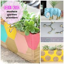 design crush modern garden planters and pots twelveoeight