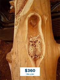 wood carvings summit log timber homes
