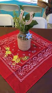 Birthday Table Decorations by 25 Best Cowboy Centerpieces Ideas On Pinterest Western Party