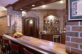 finished basement bar and wine cellar basement detroit by