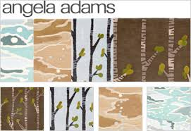 Angela Adams Rugs This Deliciously Dramatic Rug Featuring Organic