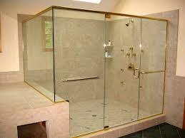heavy glass shower doors shower enclosure examples all glass and showers