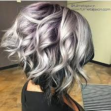 silver brown hair the 25 best silver purple hair ideas on pinterest silver