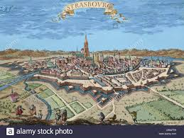Strasbourg France Map by 17th Century Early Modern News Networks Boivieapedia France