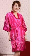 robe de chambre soie shopping satin robe peignoir femmes pyjamas de nuit bain de robe