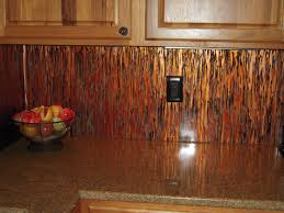 Kitchen Copper Backsplash - Copper backsplash