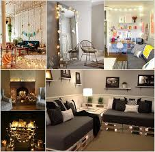 design your livingroom decorate your living room with string lights