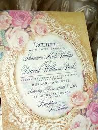 Shabby Chic Wedding Invitations by 71 Best Wedding Invitations Images On Pinterest Shabby Chic
