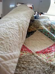 stippling a king size quilt on a sewing machine u2013 cedar creek