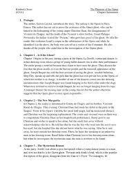phantom of the opera chapter summaries erik the phantom of the
