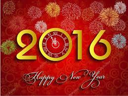 imagenes feliz año nuevo 2016 bello texto feliz año nuevo 2016 archivo imágenes vectoriales