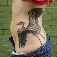 pix for u003e white heron tattoo u2026 pinteres u2026