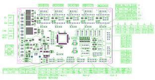 mks gen v1 4 3d printer control motherboard compatible reprap