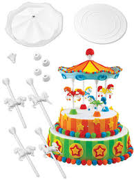 carousel cake topper carousel cake set wilton