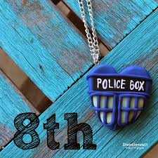 doodlecraft paul mcgann tardis heart necklace 8th day of doctor who