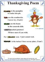 thanksgiving poems pinteres