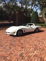 pearl white corvette 1980 chevrolet corvette c 3 stingray pearl white for sale