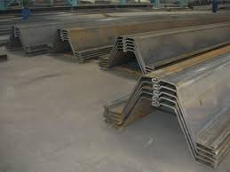 Bench To Weight Ratio U Type Steel Sheet Pile 400 900mm Width High Strength To Weight