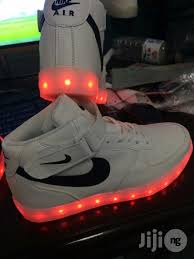 sneakers that light up on the bottom nike light up shoes orange