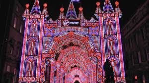 virgin money street of light part of edinburgh u0027s christmas 2015