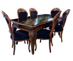 Italian Dining Room Sets Vintage Italian Dining Set Including Table And Six Chairs