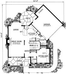 Unique Floor Plans For Houses Unique Floor Plan Hides Garage 43040pf Architectural Designs