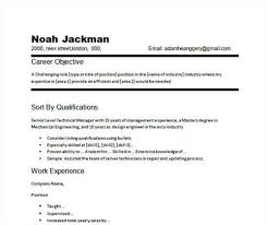Sample Of Good Resume by Resume Career Objective Example Broker Assistant Cover Letter Job