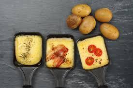 peut on manger de la raclette de la tartiflette et des fondues