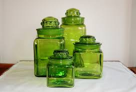Green Canister Sets Kitchen Top 28 Green Canister Sets Kitchen Green Glass Kitchen Canister
