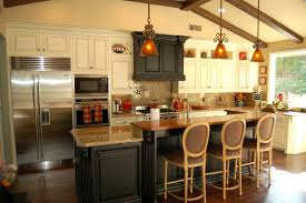 kitchen with island and peninsula popular kitchen design island or peninsula railing stairs and