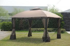 Big Lots Patio Gazebos by Replacement Sunjoy Big Lots South Hampton Gazebo Canopy Replacement Fabric Cover Set 01 Jpg
