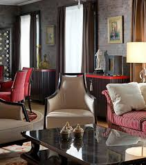american style luxury apartment inspired by 30s alexandr shepel