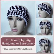 infinity headband yin yang infinity headband free crochet pattern