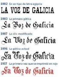 imagenes goticas letras letra gótica diagramación en prensa