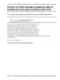 free resume cover letter examples resume template and