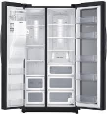 Samsung Counter Depth Refrigerator Side By Side by Samsung Showcase 24 7 Cu Ft Side By Side Refrigerator Black