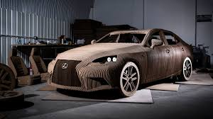lexus finance deals lexus made a working electric car out of cardboard