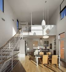 lighting dining table stairs kitchen stylish townhomes near